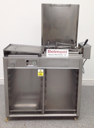 DCA Half Size 15x18 Tray Doughnut Fryer with Turning Mechanism and Under Prover -  Product Code DF3