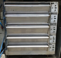 Tom Chandley 5 Deck 15 Tray Deck 2 High 3 Low Crown Oven Bakery Equipment