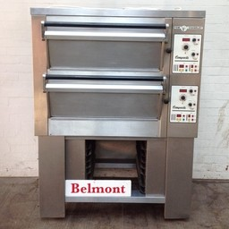 Tom Chandley 2 Deck 2 Tray High Crown Bakery Oven Excellent Condition Can Be Single Phase - Product Code DO05