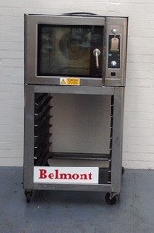 Salva Bake Off on Stand with Shelving, 400 by 600 Trays. Can Be single Phase - Product Code BO05