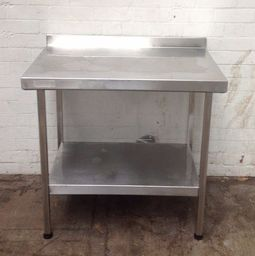 Stainless Steel Bakery Table with Under Shelf - Product Code T4
