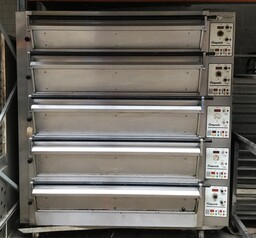Tom Chandley 5 Deck 15 Tray 3 High 2 Low Crown Bakery Oven BAKERY EQUIPMENT