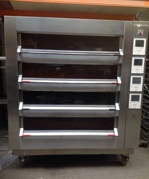 Tom Chandley 4 Deck 24 Tray High Crown Bakery Oven- Product Code DO14