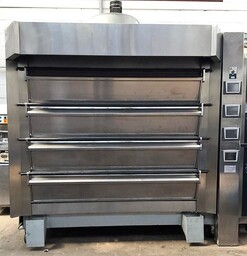 Tom Chandley 4 Deck 32 Tray Bakery Oven