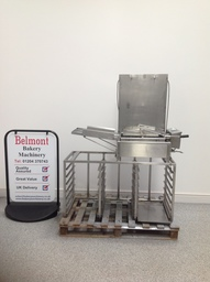 DCA Half Size 15x18 Tray Doughnut Fryer with Turning Mechanism - DF2